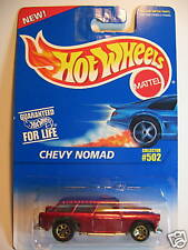 HOT WHEELS #502 CHEVY NOMAD METALLIC RED