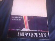 1941 Nash Ambassador and 600 Color Brochure Catalog Prospekt