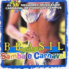 VARIOUS ARTISTS - BRASIL: SAMBA E CARNAVAL NEW CD