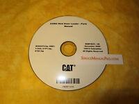 SEBP4633 Caterpillar 232B Series 2 Skid Steer Loader Parts Manual Book CD SCH