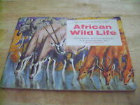 African Wild Life Album & Cards By Brooke Bond Tea