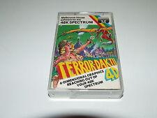 TERRORE daktil 4D da MELBOURNE CASA per ZX Spectrum COMPLETI! VINTAGE gioco