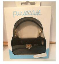 PurseCase Iphone 5/5s/5c Purse Clutch Wristlet black and gold  NIB