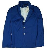 Drykorn Herren Sakko Blazer Jacke Business Anzug Gr.50 L slim fit blau Neu