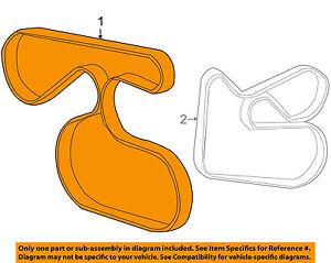 TOYOTA OEM-Serpentine Drive Fan Belt 9091602652