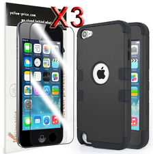 Shock proof Hybrd Impact Case Films for Apple iPod Touch 6 5th 5G Gen Generation