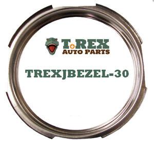Jeep/Willys CJ, Wagon, PU, FC Stainless Steel Speedometer Bezel