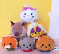 "New Disney TSUM TSUM The Aristocats Mini Plush Toys Screen Cleaner 3.5""/9cm"