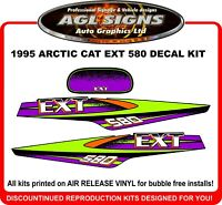 1995 Arctic Cat 580 EXT Replacement Decal Kit   graphics stickers