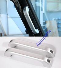 2PCS Alloy A pillar Grab Bar handle Silver For Land Rover Defender 1990-2016