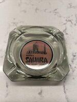 Vintage SAHARA HOTEL Casino Ashtray Las Vegas Nevada, Glass, Advertising!
