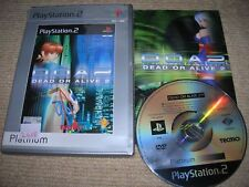 SONY PLAYSTATION 2 PS2 DEAD OR ALIVE 2 GAME 2000 !
