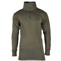 Original GERMAN ARMY TRICOT SHIRT Undershirt winter warm thermal Olive OD NEW