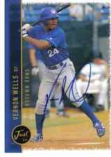 Vernon Wells Autographed Card