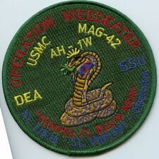 USMC MAG-42 Operation Weedeater Squadron  Patch
