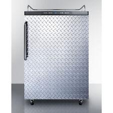 Summit Sbc635mnkdpl 24 1 Tower Draft Beer Cooler Dispenser 56 Cu Ft