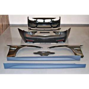 BMW F30 Look M4 Style Bodykit with Front Fenders
