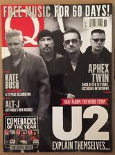 Q U2 Kate Bush Then Now Aphex Twin ALT-J Free Music November 2014 FREE SHIPPING!