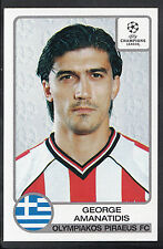 Panini football sticker-uefa champions league 2001-02 - nº 213-olympiakos