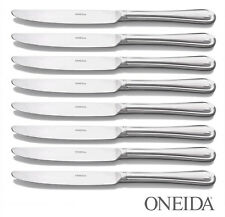 ONEIDA KNIVES X 8 - APPROX 21 cm -NEW