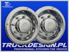 Truck wheel cover straight 2 x 17.5  Wheel Trims Stainless STEEL
