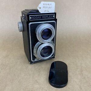 Kodak Reflex TLR 1946 Vintage Camera W/ 80mm 3.5 Anastigmat - CLEAN
