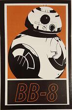"""*** Star Wars - Sticker - Decal - """"BB8"""" - R2D2 - Droid - 6x9,5cm  ***"""
