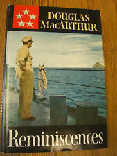 Reminiscences; General of the Army, 1st Ed,  Douglas MacArthur, McGraw-Hill 1964
