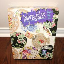 sealed BePuzzled Impossibles GREAT WALL OF CHINA puzzle 750 +5 pcs Hidden Images