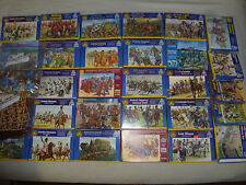 LARGE ITALERI FIGURE COLLECTION CIVIL WAR GAUL MONGOLS ARAB BRITISH INFANTRY LOT