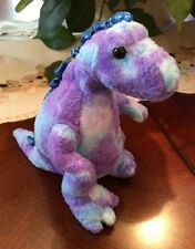 Ty Beanie Baby Tyranno - No Hang Tag (Dinosaur 2007) Purple & Blue