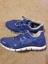 ASICS Gel Blur 33 Mens Sz 9.5 Running Shoes Sneakers T1H3N Blue *Fast Shipping*