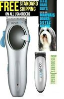 CONAIR 20 pc Rechargeable Cordless trimmer Pet Grooming KIT FOR Dogs&Cats--NEW