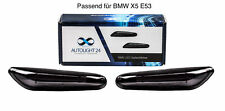 Premium Smoke LED Seitenblinker Blinker für BMW X5 E53 SB10