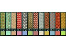 """File Art - 12 breite Ordnerrücken Design Etiketten """"Pattern"""".........321+322+323"""
