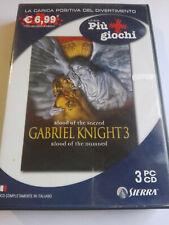 GABRIEL KNIGHT 3 VIDEOGIOCO PC COME NUOVO ITALIANO VIDEOGAME