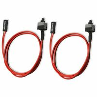 2 Pack 2 Pin SW PC Power Cable on/off Push Button ATX Computer Switch Wire 4 a1n