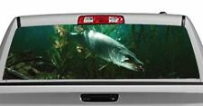 Truck Rear Window Decal Graphic [Fishing / Lurking Musky] 20x65in DC78702