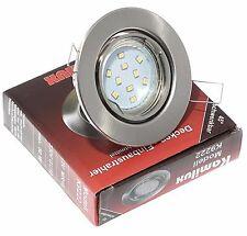 Einbaustrahler LED 230V 5W=50W SMD Decken Spots Hochvolt 5-15er Set TOM K9222