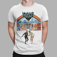 Logan's Run T-Shirt TV Future Sci Fi 70s Movie Retro Tee Gift Unisex Xmas