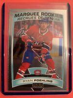 2019-20 OPC Platinum Marquee Rookie #197 Ryan Poehling Montreal Canadiens RC