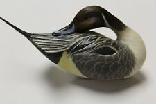 minature decorative pintail decoy by dick bonner a limited edition