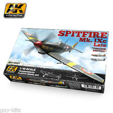 SPITFIRE Mk. IXc, Armée de l'Air 1945 - Kit AK Interactive 1/48 n° 148001