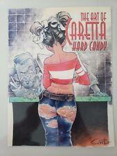 HARD CANDY: THE ART OF CARETTA GRAPHIC NOVEL 2007 SQPART BOOKS 1ST PRINT HTF