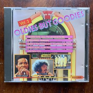 Oldies But Goodies Vol.3 CD 1960s Rock Pop Music Compilation