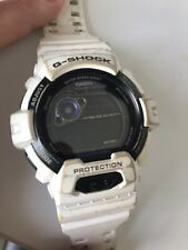 Repair, Comes On But Can't Adjust G-Shock Watch, White, Used, Spares Or
