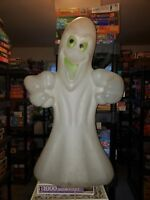 """Vintage Scary Ghost Empire Blow Mold Halloween Yard Light Decoration 35"""""""