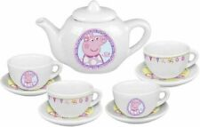Peppa Porcelain Tea Set With 10 pieces Peppa Pig Afternoon Tea Toy Playset UK