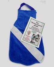 Clearance 50% off! Blue SUBA Fin Stocking / Reusable Gift Bag.