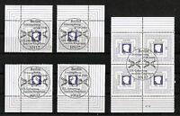 Bund 2685 Eckrand oder Viererblock gestempelt Vollstempel Berlin ETSST BRD 2008